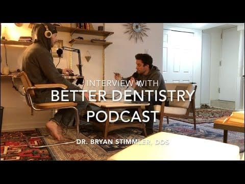 Tiger Safarov talks with Dr. Bryan Stimmler on The Better Dentistry Podcast